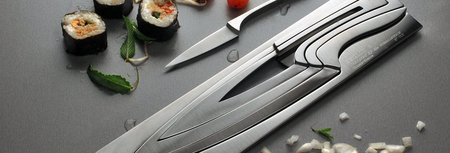 Achat de couteaux