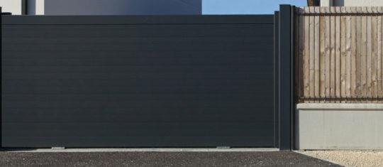 portail en aluminium